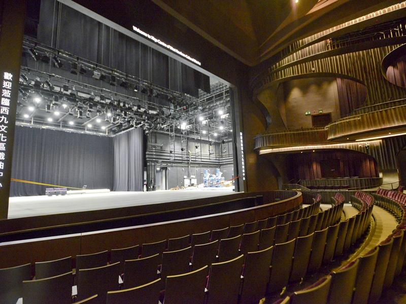 粵劇申遺十年間,戲曲中心等演出場地增加。