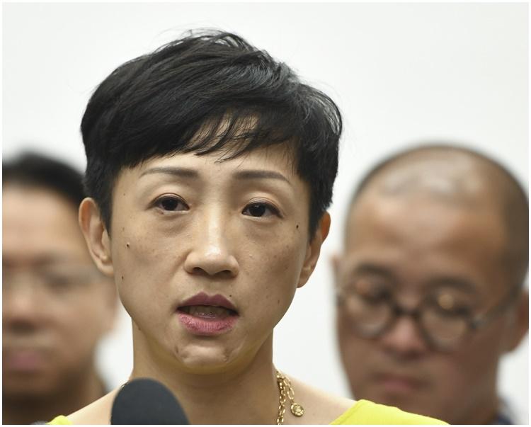 陳淑莊希望區議會選舉能如期舉行。資料圖片