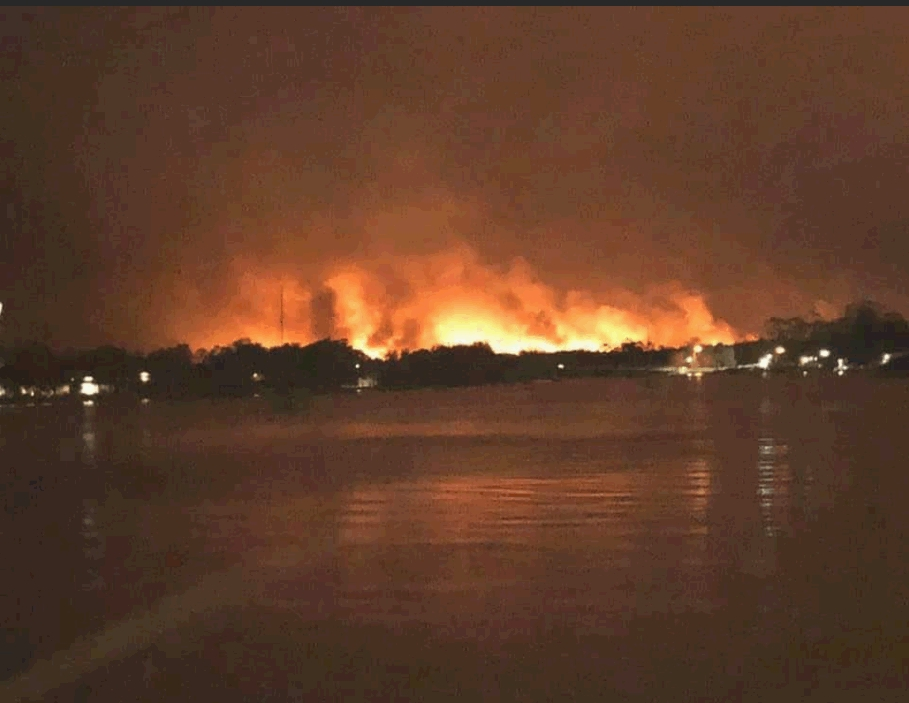澳洲東部山火持續。