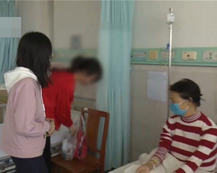 兩姐妹爭相要為患病母捐肝。網圖