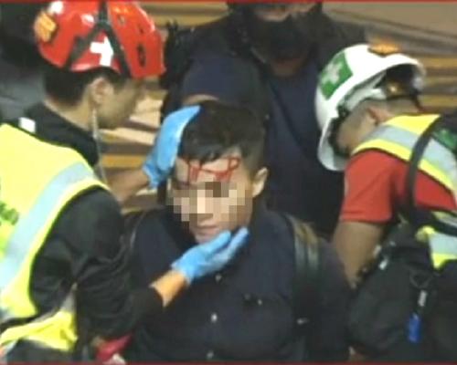 【修例風波】警方旺角多輪胡椒球彈及催淚彈驅散示威者