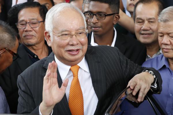 马来西亚前首相纳吉布。