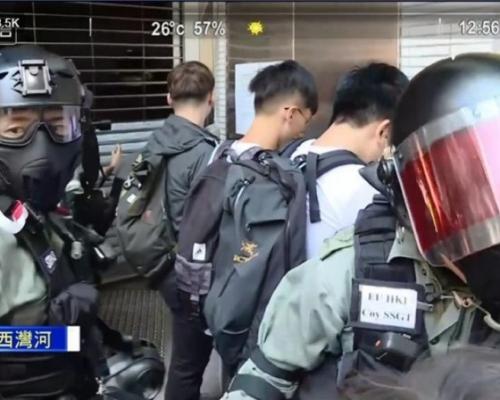 【大三罷】警員進入教堂追捕示威者 天主教區:已無法保障不被逮捕