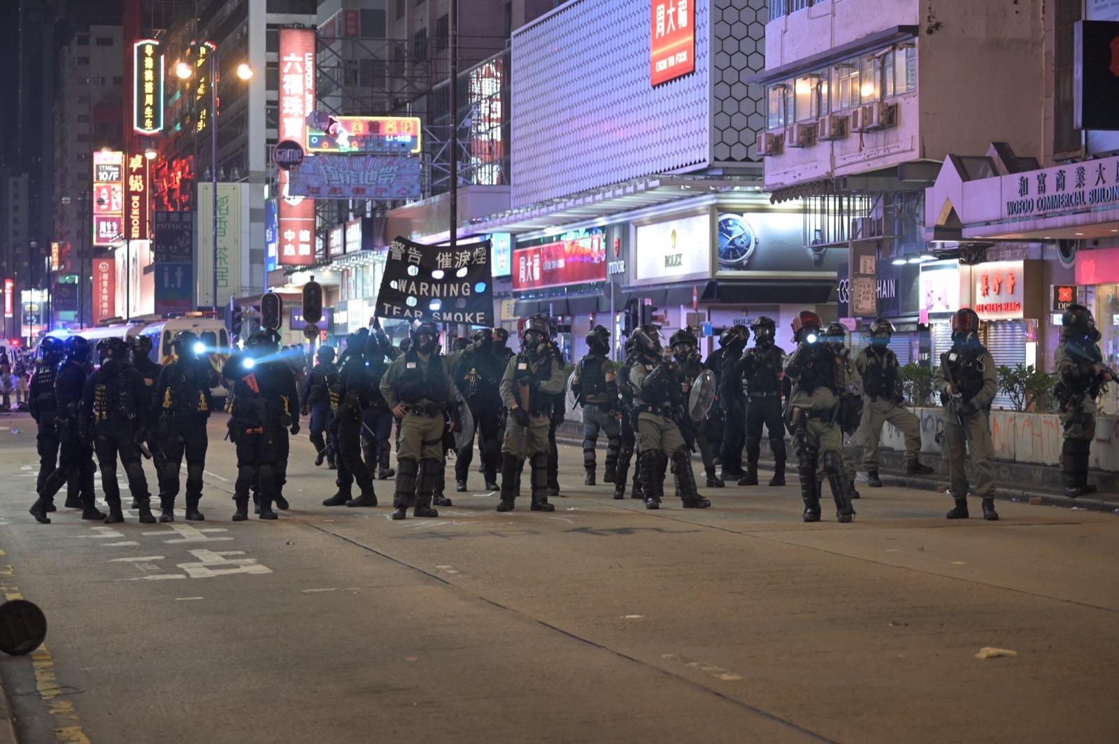 多區都爆發激烈衝突。