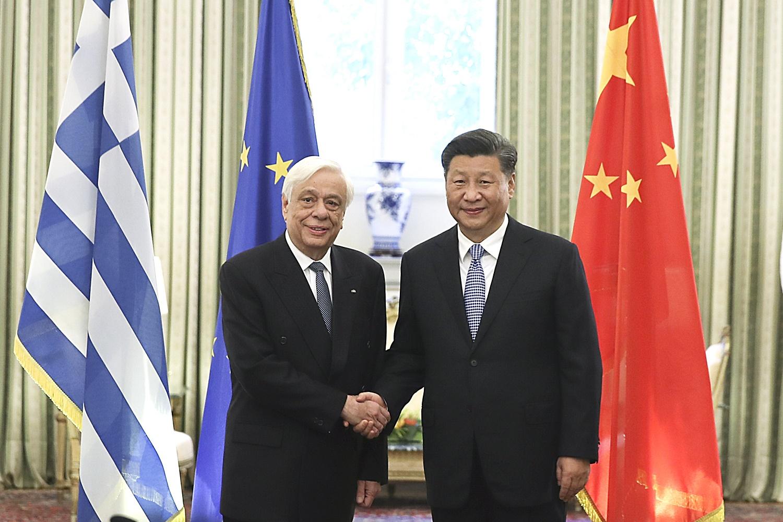兩國元首今天舉行會晤。