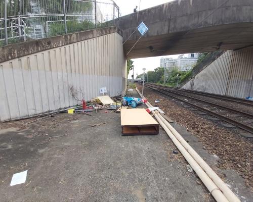 【大三罷】港鐵黃埔站關閉 多個車站暫停服務