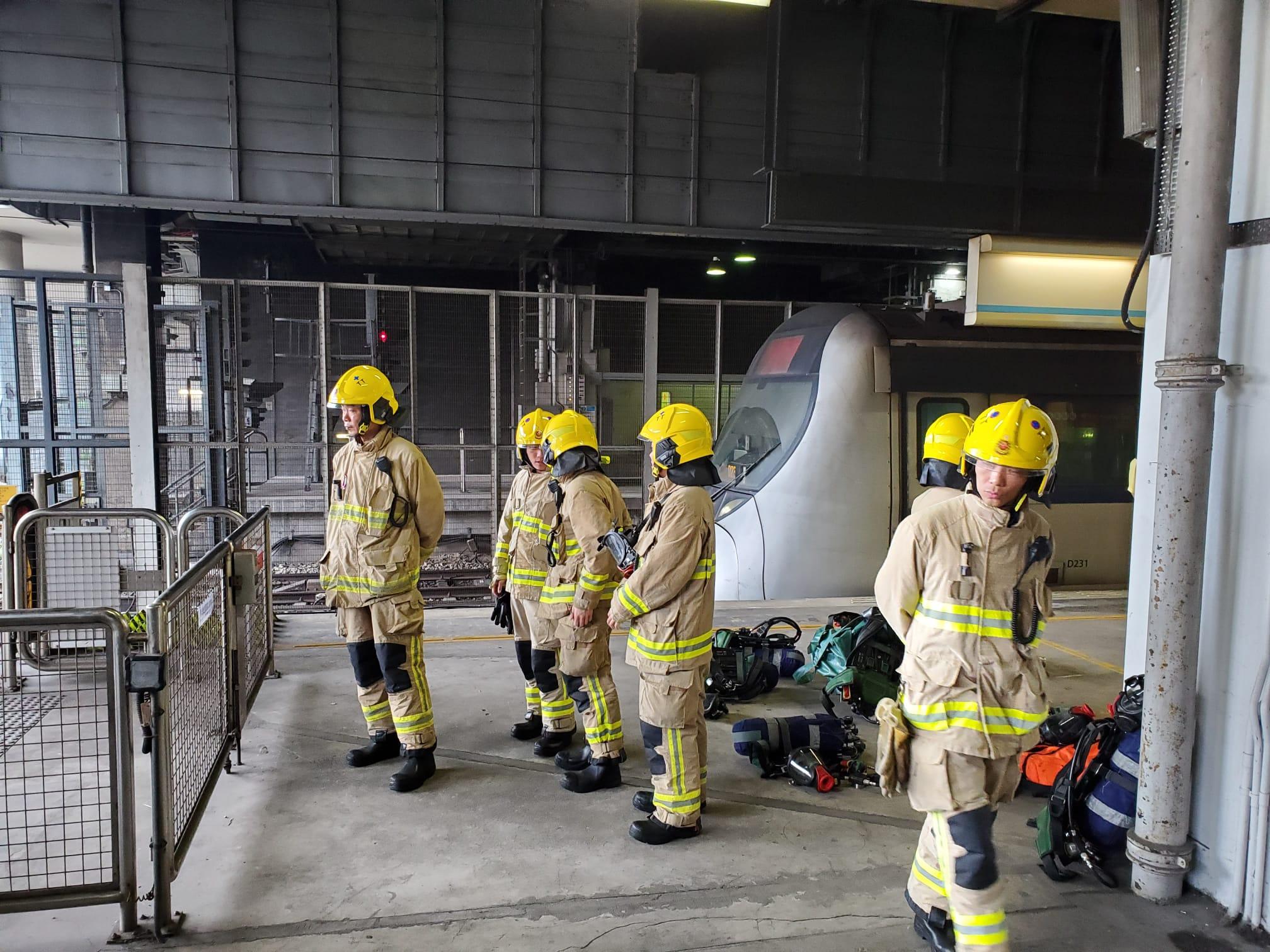 消防到場處理。