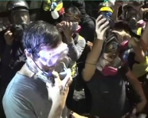 【大三罷】沈祖堯抵中大呼籲示威者和平散去 稱警方承諾後退