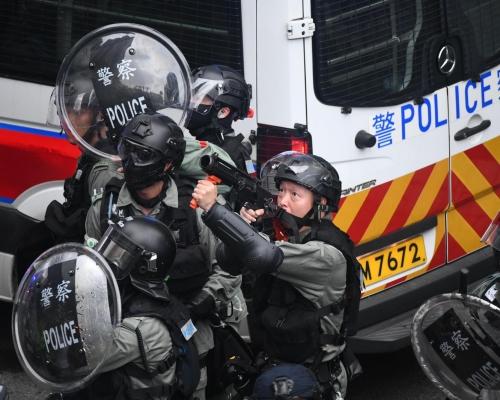 【修例風波】懲教署飛虎隊成首批「特別任務警」 周六起加入防暴工作