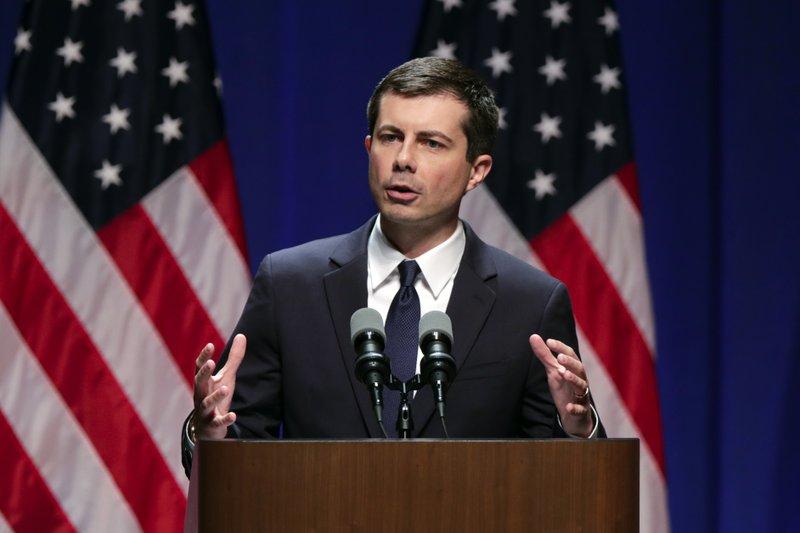 布蒂吉格首度在州級總統初選民調取得領先地位。AP