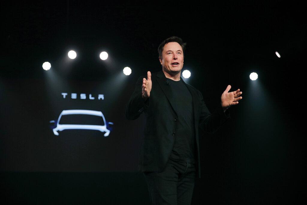 Tesla行政總裁馬斯克(Elon Musk)宣布,歐洲廠房選址為德國柏林。AP