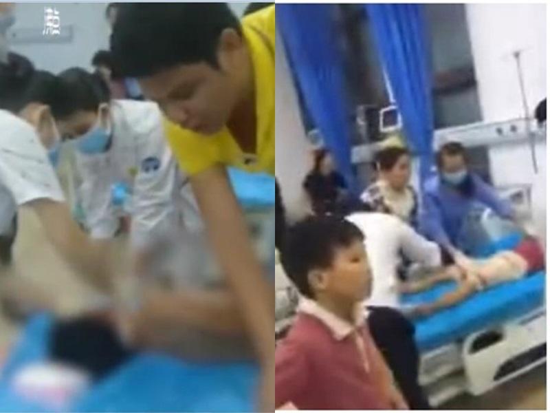 共有43名學生誤食野果中毒被送院。網圖