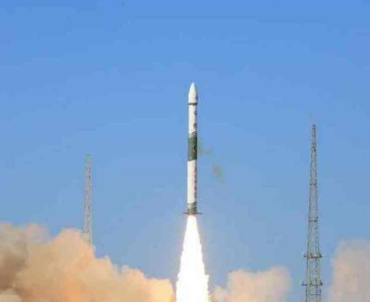 衛星順利進入預定軌道。