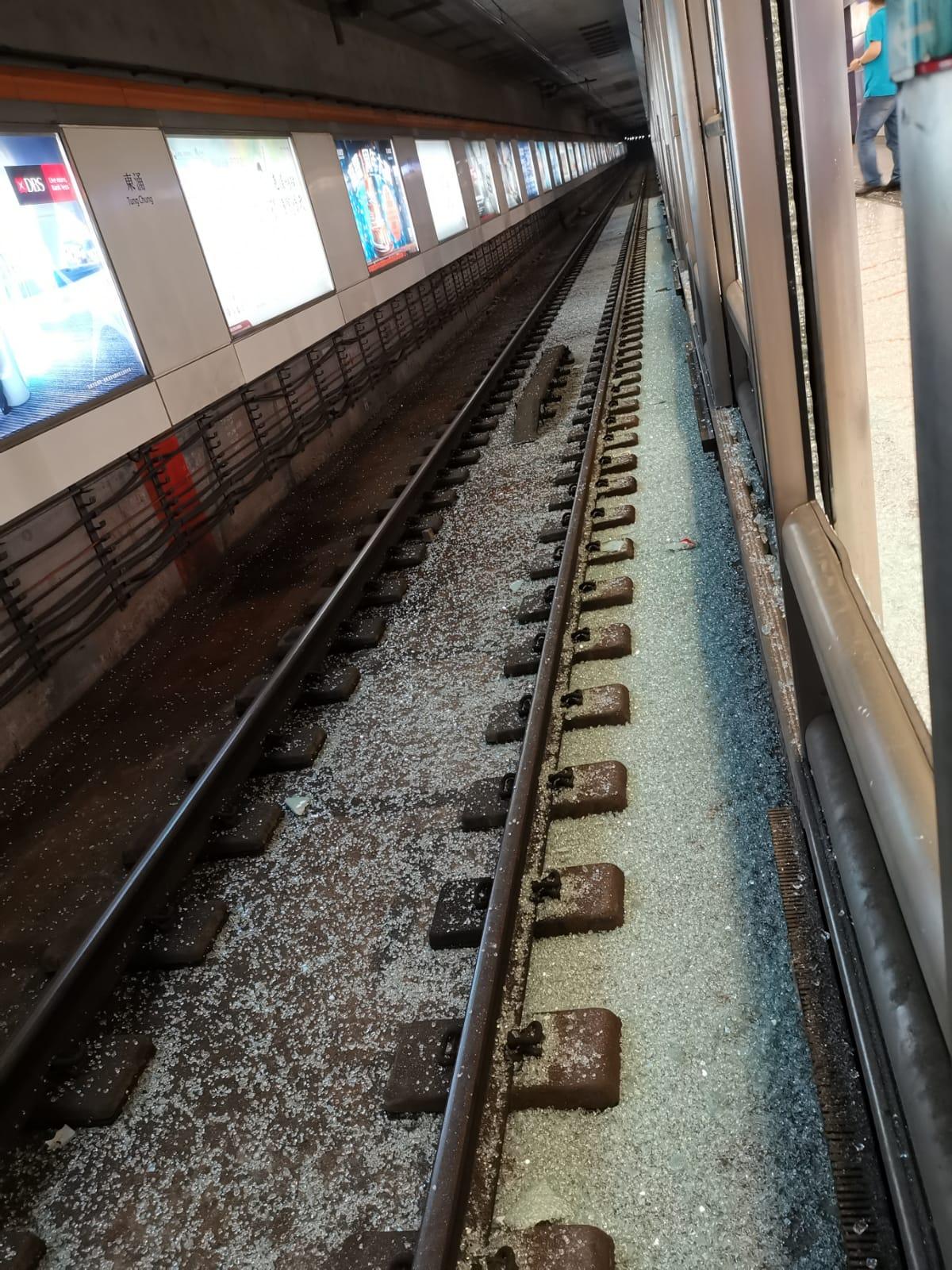東涌站。港鐵提供