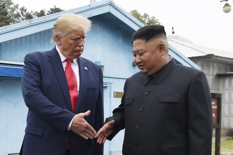 北韓認為美國和南韓計劃近期舉行聯合空中演習是對朝美新加坡會晤共識的「全盤否定」,是「以惡報善的背叛行為」。AP資料圖片