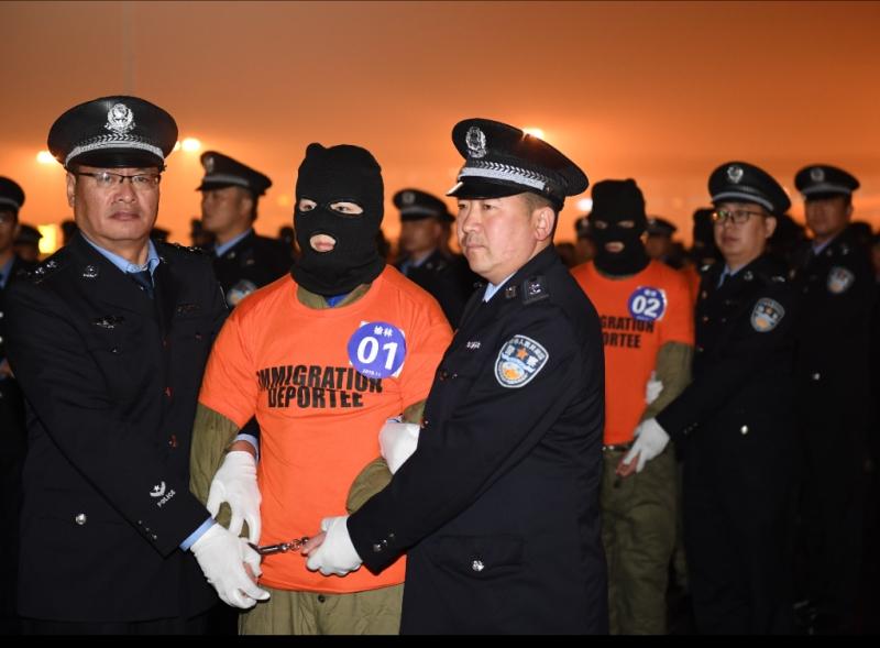 內地今年前十個月已逮捕網絡犯罪嫌疑人逾6.5萬人。(新華社)