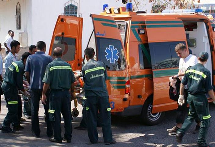埃及賊人破開輸油管偷油引發大火七死。網上圖片