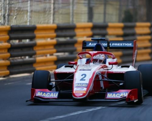 澳博德利三子 澳門F3排位賽搶鏡