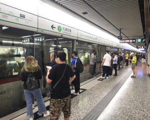【大三罷】港鐵多個車站關閉 今晚10時收車