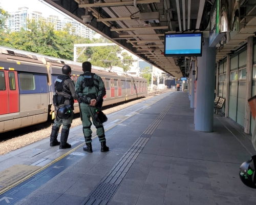 【大三罷】東鐵線恢復紅磡站至火炭站服務 多個車站關閉