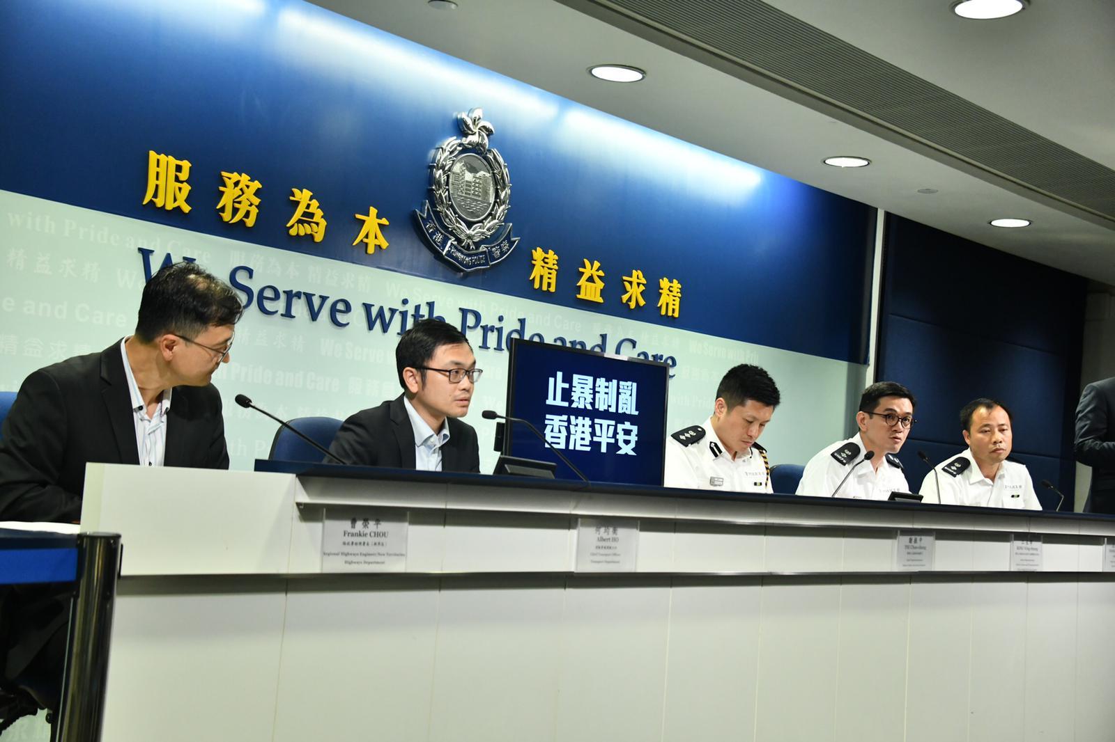 警:懲教員已宣誓為特務警察 執勤時穿懲教制服