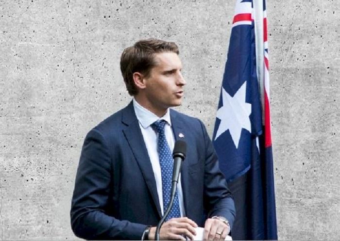 保守派國會議員海斯迪(Andrew Hastie)被中國拒入境。網上圖片