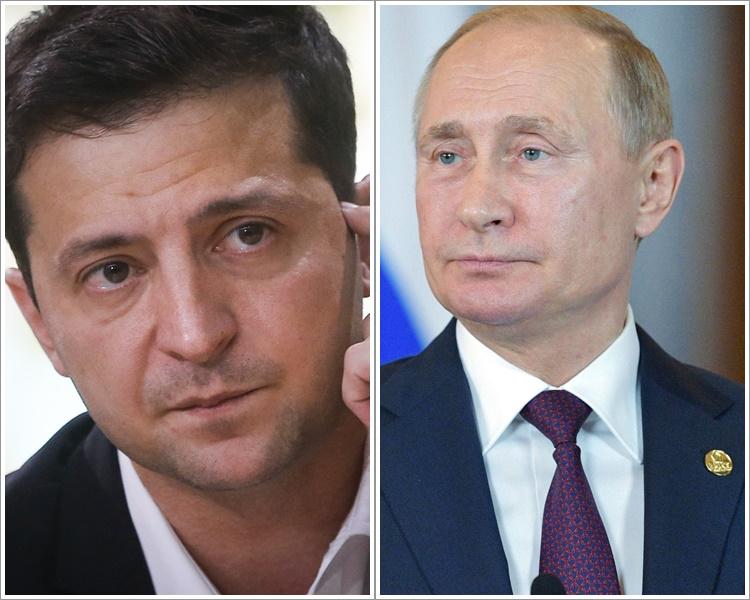 澤連斯基普京將在巴黎面對面磋商。AP