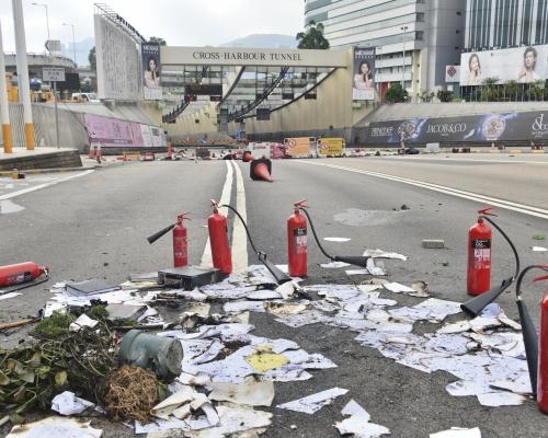 【大三罷】政府:紅隧短期內未能開通 盡快擬定修復計劃