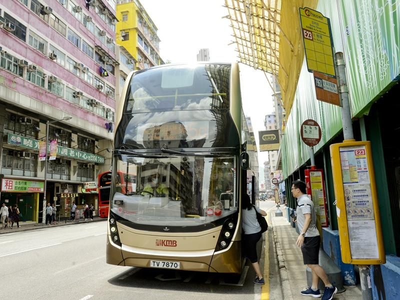 多條巴士路線需改道或暫停。資料圖片