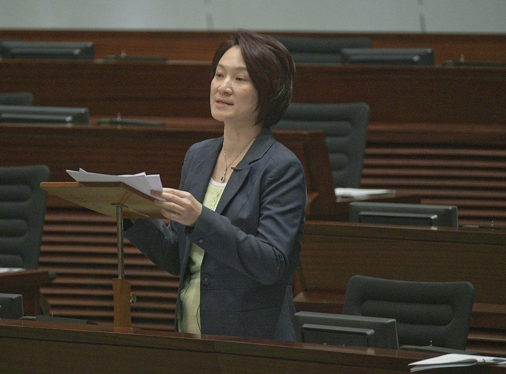 民建聯主席李慧琼。資料圖片