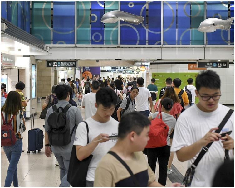 東鐵旺角東站。資料圖片