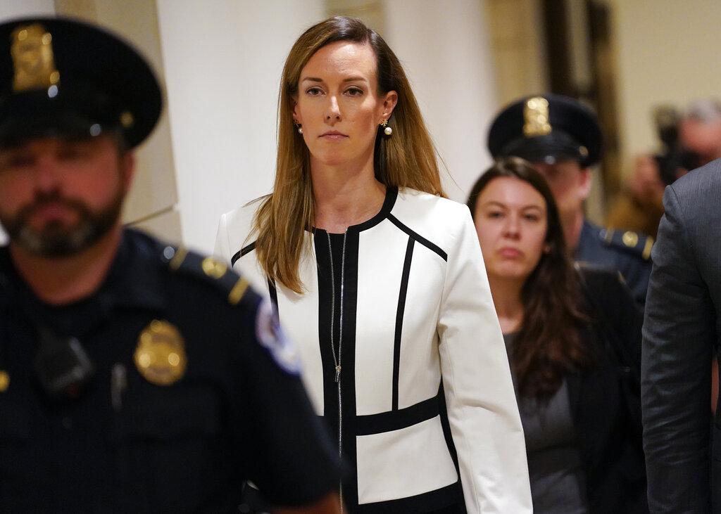 副總統彭斯的外交政策女助手威廉斯。AP