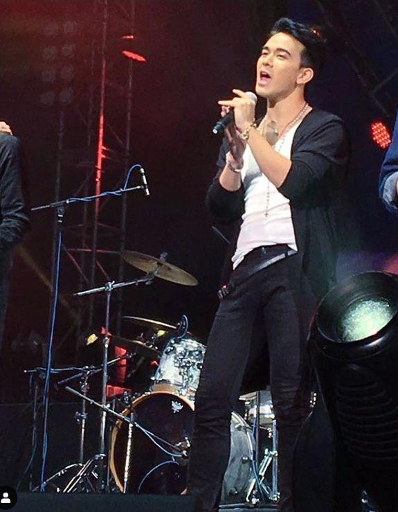 Andrew鍾意唱歌,他表示出專輯的願望明年可成事。