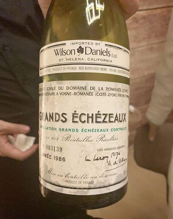 呢枝法國布根地紅酒價值兩萬元。