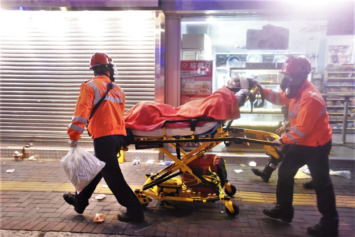 現場多人受傷。