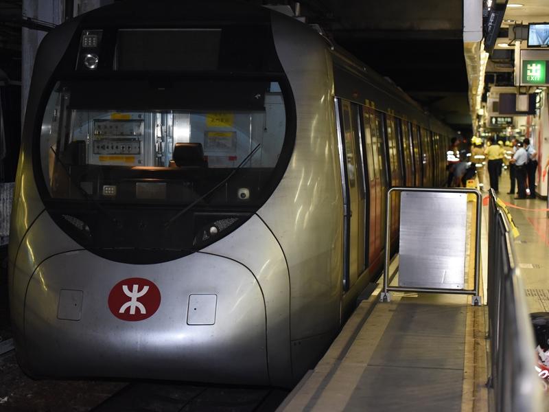 港鐵5個站關閉。資料圖片