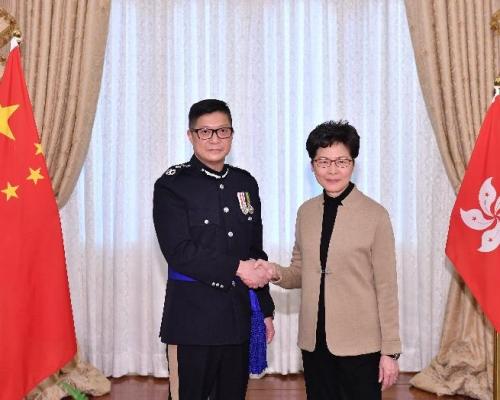 國務院任命鄧炳強為警務處處長 接替盧偉聰