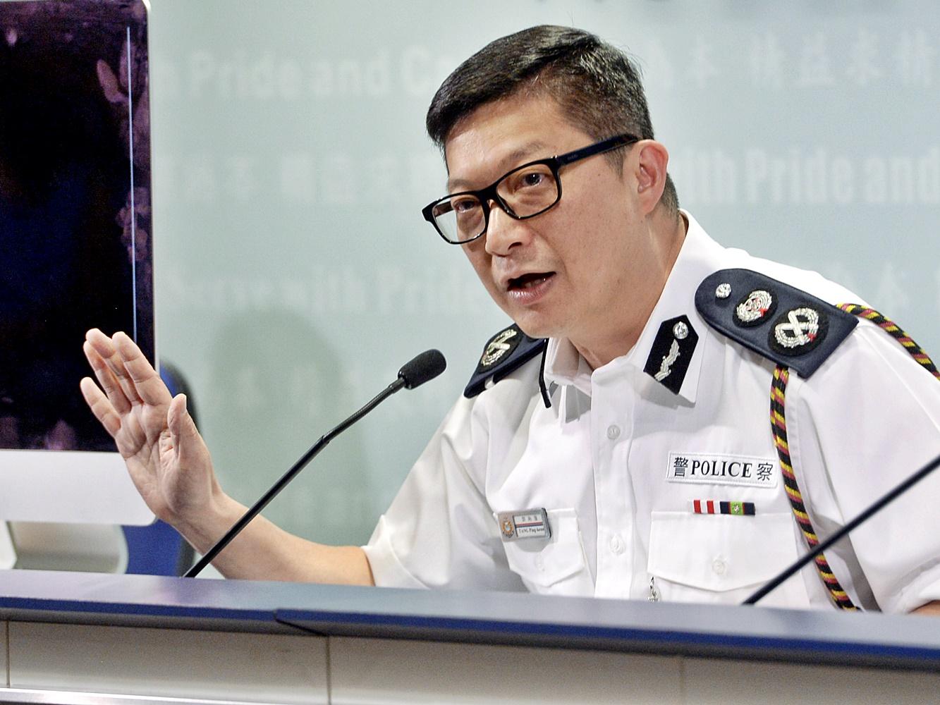 鄧炳強接受《東周刊》專訪親述防暴策略。資料圖片