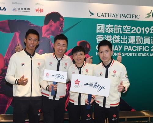 2019香港傑出運動員選舉明年三月舉行 明年一月開放予公眾投票