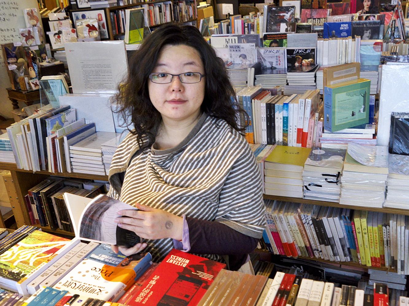 作家鄧小樺理大被捕。資料圖片