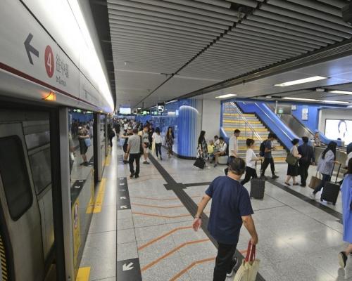 【修例風波】港鐵11個車站今晚9點關閉 大學紅磡繼續封站