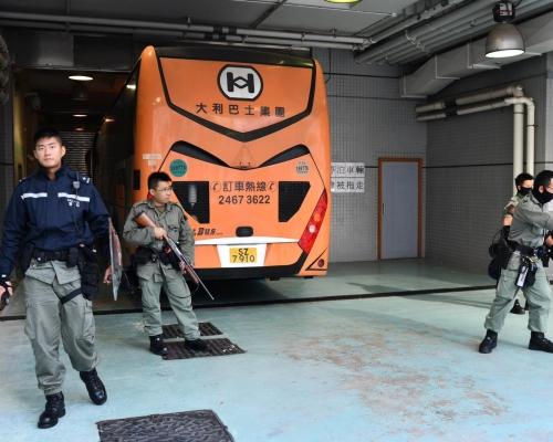 【修例風波】60人提堂被控暴動 部分被告禁足加士居道至彌敦道