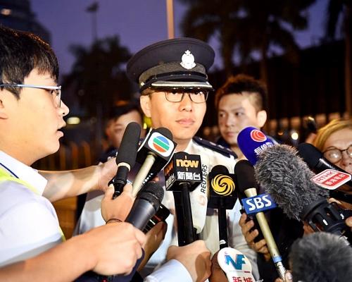 【修例風波】警方:理大拘捕或登記1000人 拘6人涉爬坑渠