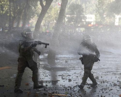 導致逾200多人眼受傷 智利警方終停用橡膠子彈