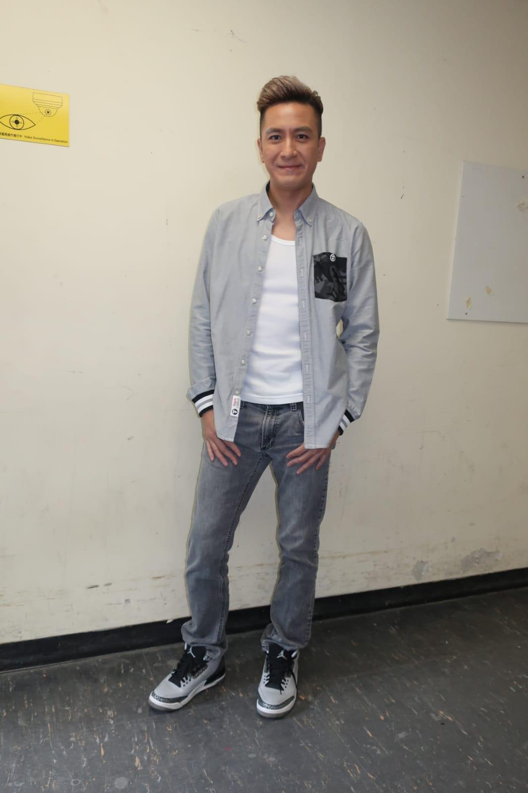 馬國明希望延續台慶夜的好運到頒獎禮。