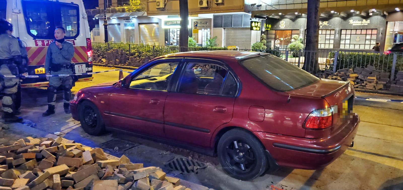 警方發現可疑私家車