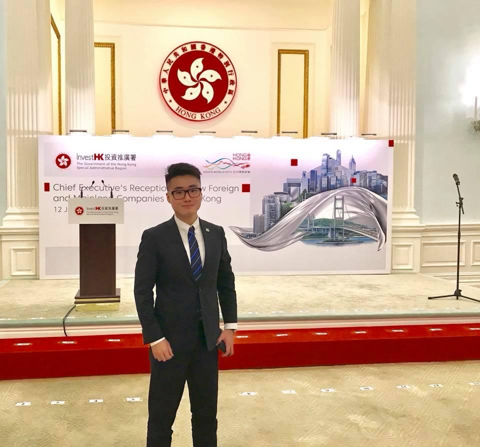英國駐香港總領館前職員鄭文傑。網上圖片