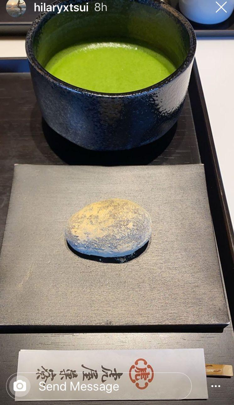 原來阿徐同港女一樣都係「綠茶控」。