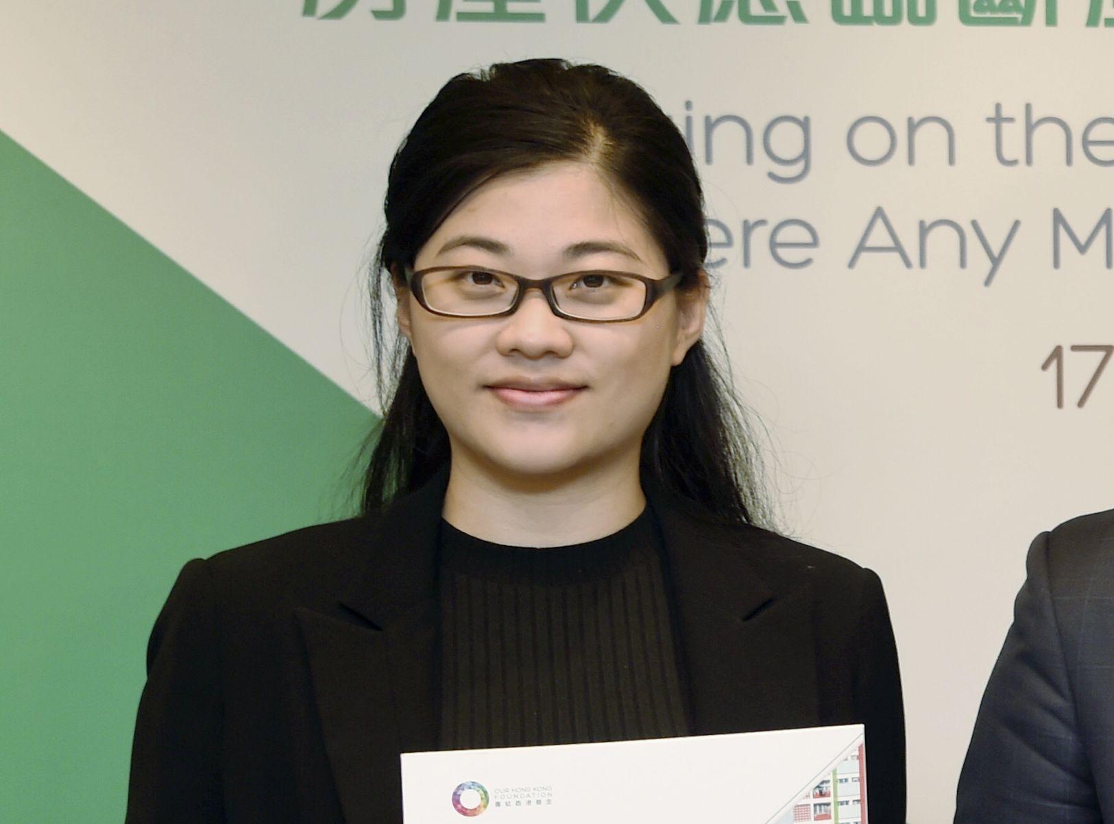 團結香港基金研究員潘灝儀。資料圖片