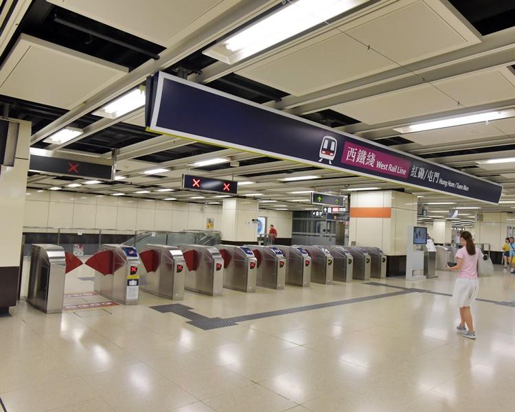 尖東站。資料圖片